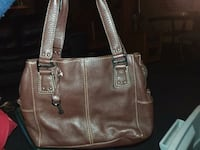 brown leather fossil  bag Waterloo, 50701