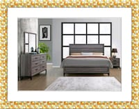 Kate 11 pc bedroom set new with mattress Falls Church, 22041