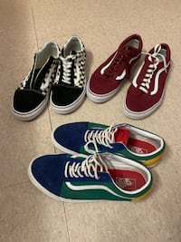 3 Pairs of Vans Size 12