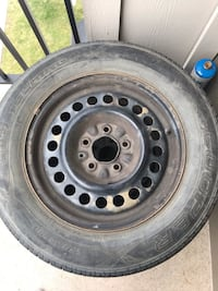 A couple of tires, looking for a car to service Edmonton, T6V