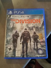 PS4 game The division