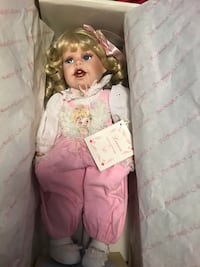 "Porcelain Collectable Doll ""Lauren"" Burlington, L7T 3R8"