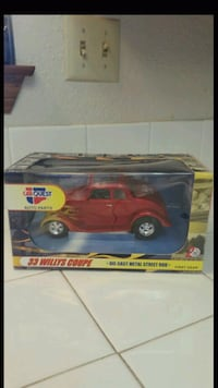 Carquest Auto Parts 1933 Willys Coupe Diecast. New