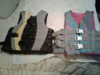 life vest male and female. adult sizes