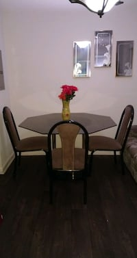 NEGOTIABLE Glass Table