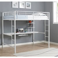 BRAND NEW IN BOX Sunset Full Loft Bed in White Kitchener, N2H 5A2