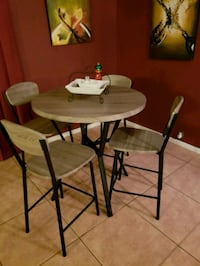 Brand New kitchen table with 4 chairs.  Spring, 77379