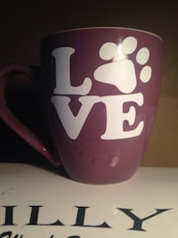 Purple dog mug  Hamilton, L8L 3H4