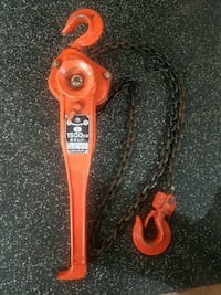 Come a long chain ratchet puller Nanaimo, V9R 2N6