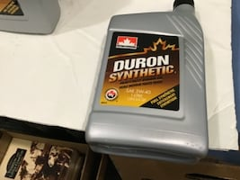 11 Quarts Of Synthetic 5W - 40 Motor Oil
