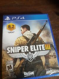 Sniper elite 3 in the plastic Stayner, L0M 1S0