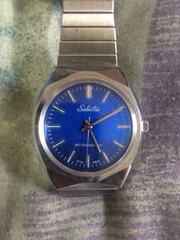 Selectra antimagnetic watch (Silver) made by swiss Edmonton, T5W