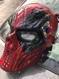 Deadpool paintball mask GERMANTOWN