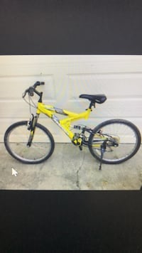yellow and black full-suspension bike Fairfax, 22032