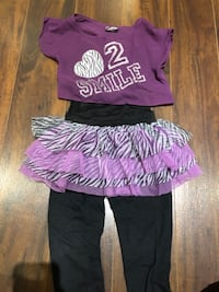 Trendy girls oufit (size 4) Laval, H7P 3B6