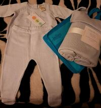 ***BRAND NEW***INDIGO PURE COTTON OUTFIT & BLANKET 539 km