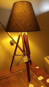 black and brown table lamp Statesville, 28625