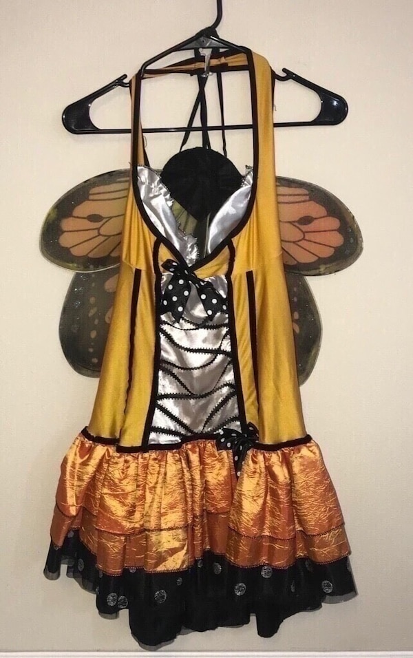 Adult Sexy Butterfly Costume Fits Most M/L just $5 Halloween