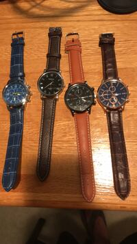 4 new watches never been worn. $20 each. Negotiable Arlington, 22201