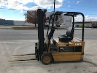Cat 4000 lb electric- Good little 3 wheeler in good condition. MISSISSAUGA