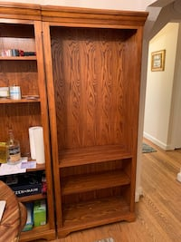 Brown Wooden Bookshelves - 2 Available Arlington, 22203