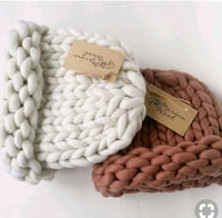 white and brown knitted textile Fort Myers, 33919