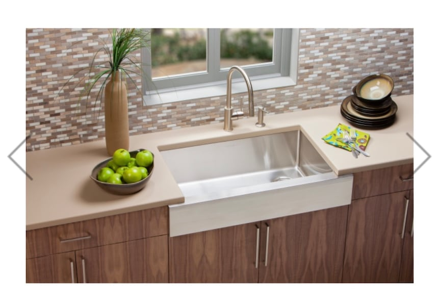 Stainless Farmhouse Sink - Elkay 0