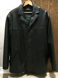 black button-up coat Kitchener, N2A 1B1