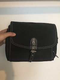 black leather 2-way bag West Covina, 91791