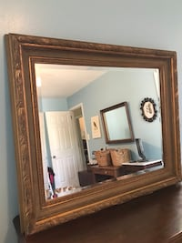 Gold framed mirror  Chesapeake, 23321