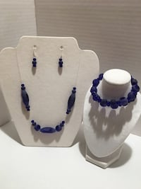 Handmade Jewelry $20.00 each set. It includes earrings, necklace, and bracelet North Arlington, 07031