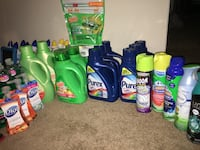 Assorted household cleaning products lot Bethesda, 20817