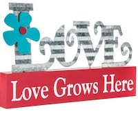 Love Grows Here Wood Decor Scarborough, Toronto, ON, Canada