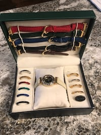 Watch - Paul Jardine - changeable strap and rings like new! Never worn! Toronto, M5M 3C4