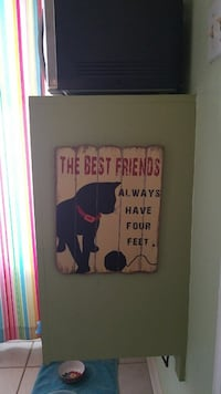 Animal quote wall decoration