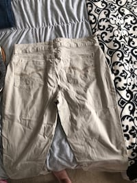 lee, tan work pants  size 12 Carolina Beach, 28428