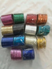 brand new colored indian bangles