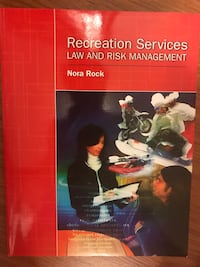 Recreation Services Law and Risk Management by Nora Rock book