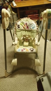 Fisher Price 3-in-1 open-top Baby swing Calgary