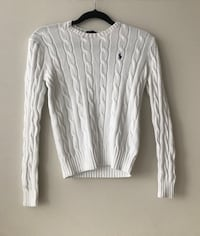 White ralph lauren sweater Mississauga, L4Z 0A5