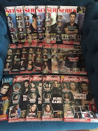 Lot de 19 magasines spécial Vampire Diaries Freneuse, 78840