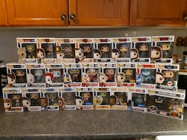 Funko Pop $10 Each *Some HaveBox Damage*