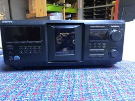 Sony Mega Storage 400 Disk CD Player Changer - CDP-CX455