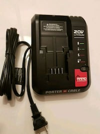 PORTER-CABLE 20-Volt Max Lithium-Ion Charger