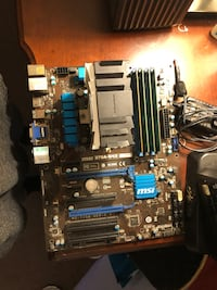Core I7 3770 with cpu cooler two noctua fans 16gb ddr3 ram motherboard