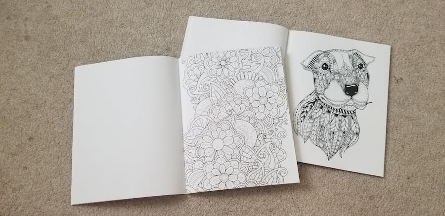 2 coloring books 0