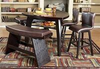 Noah chocolate 7 pcs counter height dining table Henrico, 23294