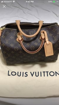 Speedy 30 Louis Vuitton authentic  Toronto, M1P