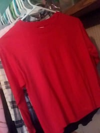 red scoop-neck long-sleeved shirt Barbourville, 40906