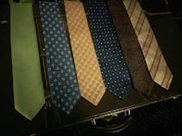 six assorted-color-and-patterned neckties Hamilton, L8P 1X6